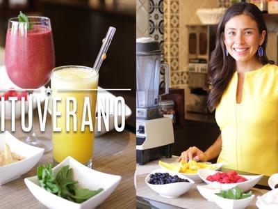 Ideas Refrescantes y Saludables para el Verano - #loscabos con Rawvana