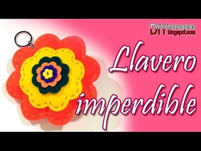 LLAVERO IMPERDIBLE - PARA NO PERDER TUS LLAVES!! DIY
