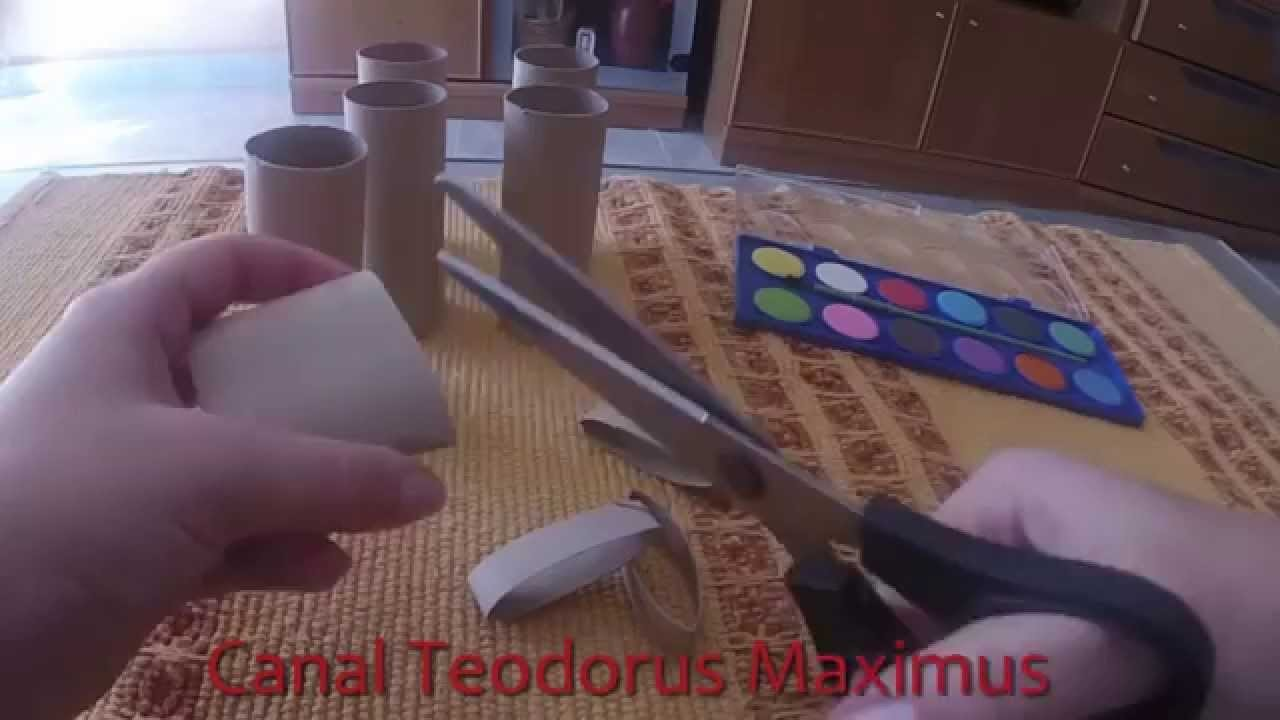 Manualidades con rollos de papel higi nico f ciles y baratas - Manualidades faciles y baratas ...