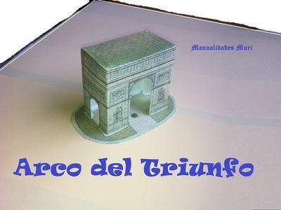 Manualidades, Paper Toys. Arco del Triunfo.