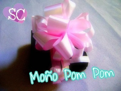 Moño Pom Pom!!!!