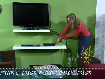 Oculta los cables con mucho diseño y estilo