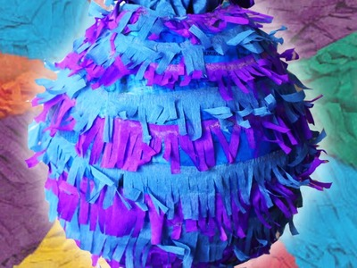 Piñata  | Cómo Hacer Una Piñata Fácil | Piñata  in Spanish | Manualidades Para Niños