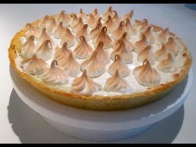 Receta: Pie De Limon Con Merengue  (Paso A Paso) - Silvana Cocina Y Manualidades