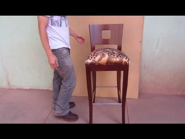 Resumen De Como Fabricar Una Silla De Madera - Tapizado Facil