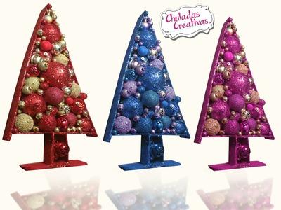 Chuladas Creativas :: Arbolito Navidad :: Decoración Navideña