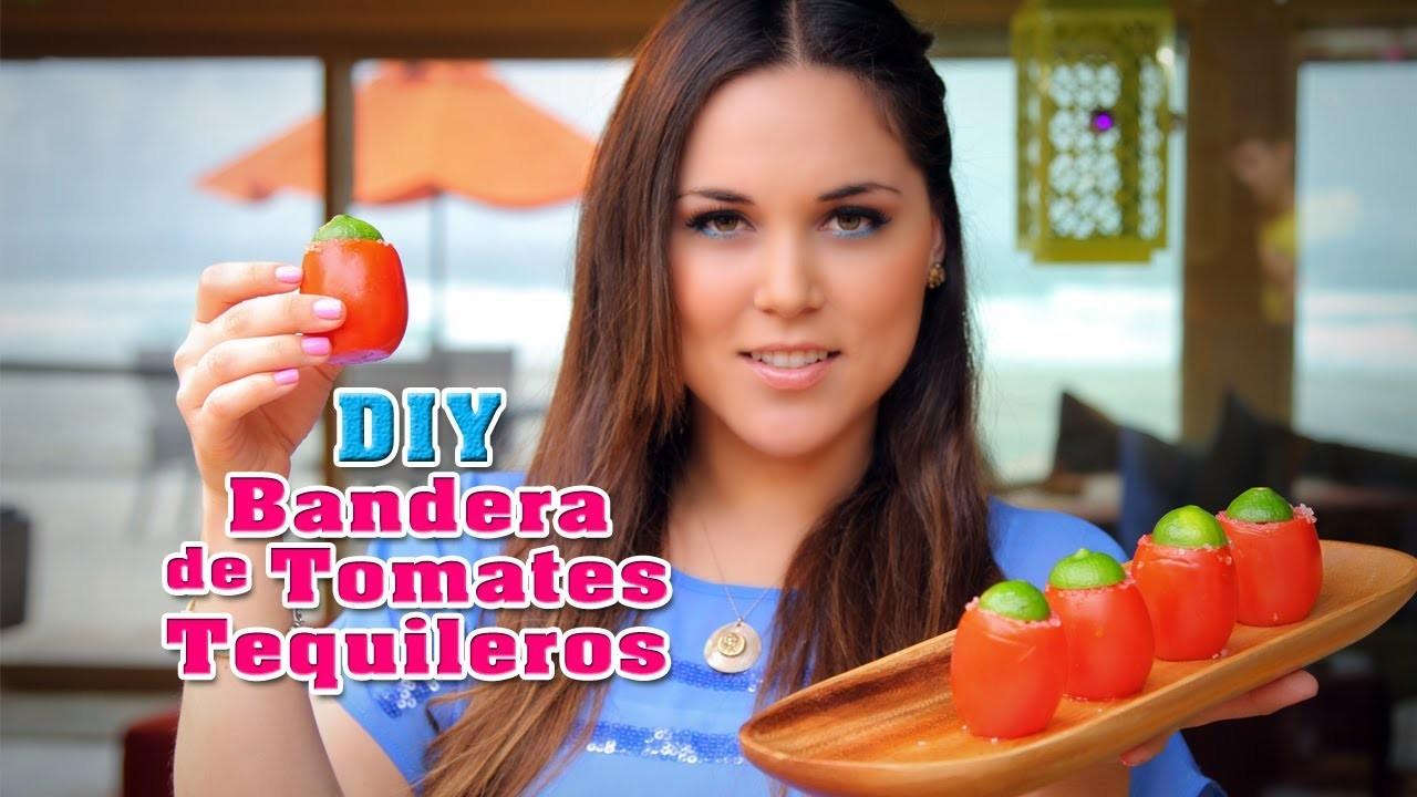 Cóctel de Tomates Tequileros (DIY) - Fun DIY's con Karla