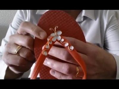 Cómo hacer adornos para chanclas | facilisimo.com