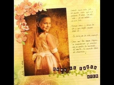 Como hacer Scrapbooking 3- Carolina Ghelfi