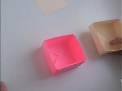 Cómo hacer una caja con tapa de papel | facilisimo.com