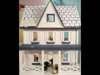 Como hacer una casa de muñecas con técnicas en papel