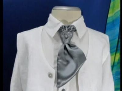 Como hacer una corbata o corbatin de niño
