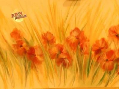 Diego Raimondo - Bienvenidas TV en HD - Pinta un cuadro floral.