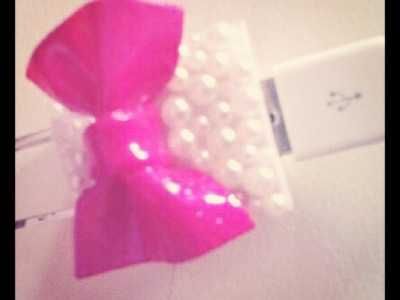 DIY: Decora el cargador de tu ipod\iphone