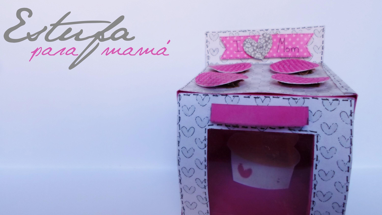 Estufa para Mamá || Paper Crafting || (Día de las Madres)