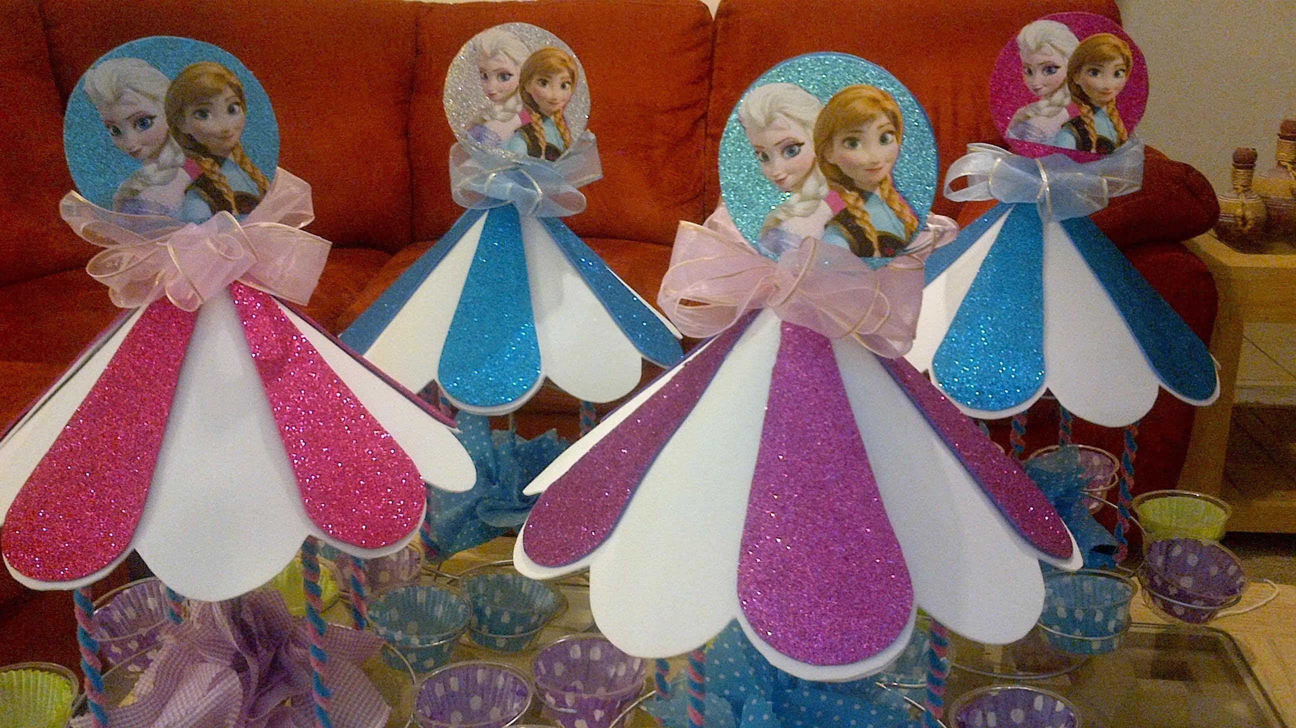 Fiesta de frozen elsa y anna. frozen party!