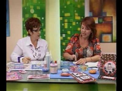 Habil&Dades Con Raquel - Alejandra Abasalo 1.4 Jabón, Tarjeta y Bolso Decorado con Papel