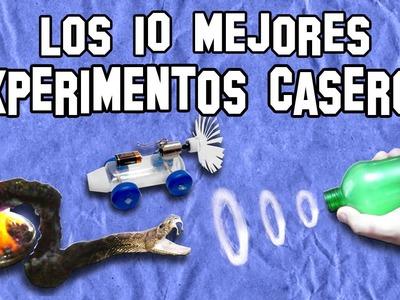 Los 10 Mejores Experimentos Caseros   Top 10 Homemade Experiments