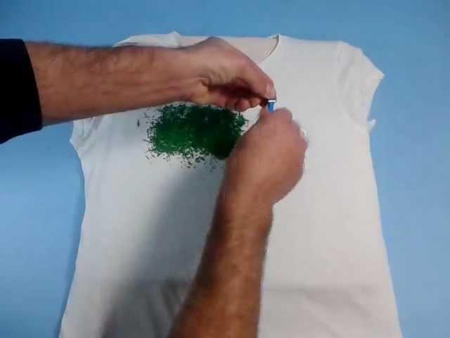 Manualidades: cómo estampar camisetas en casa