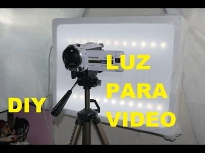 Manualidades: Haz tu propia luz para filmar - Juancarlos960