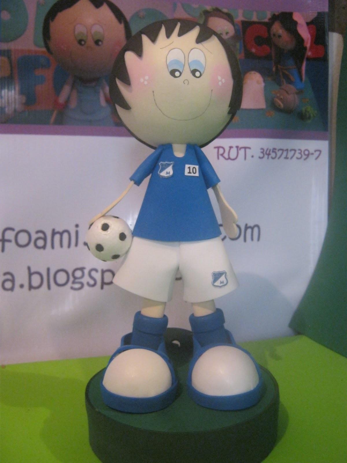 Millos Campeon torneo Futbol Colombiano 2012 Artfoamicol Fofuchas y Patrones.wmv