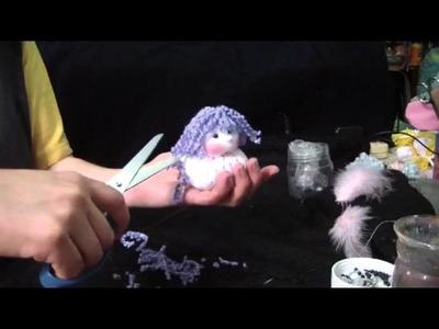 Muñecos Soft. nena alas de pluma comunion 2.2. proyecto 54