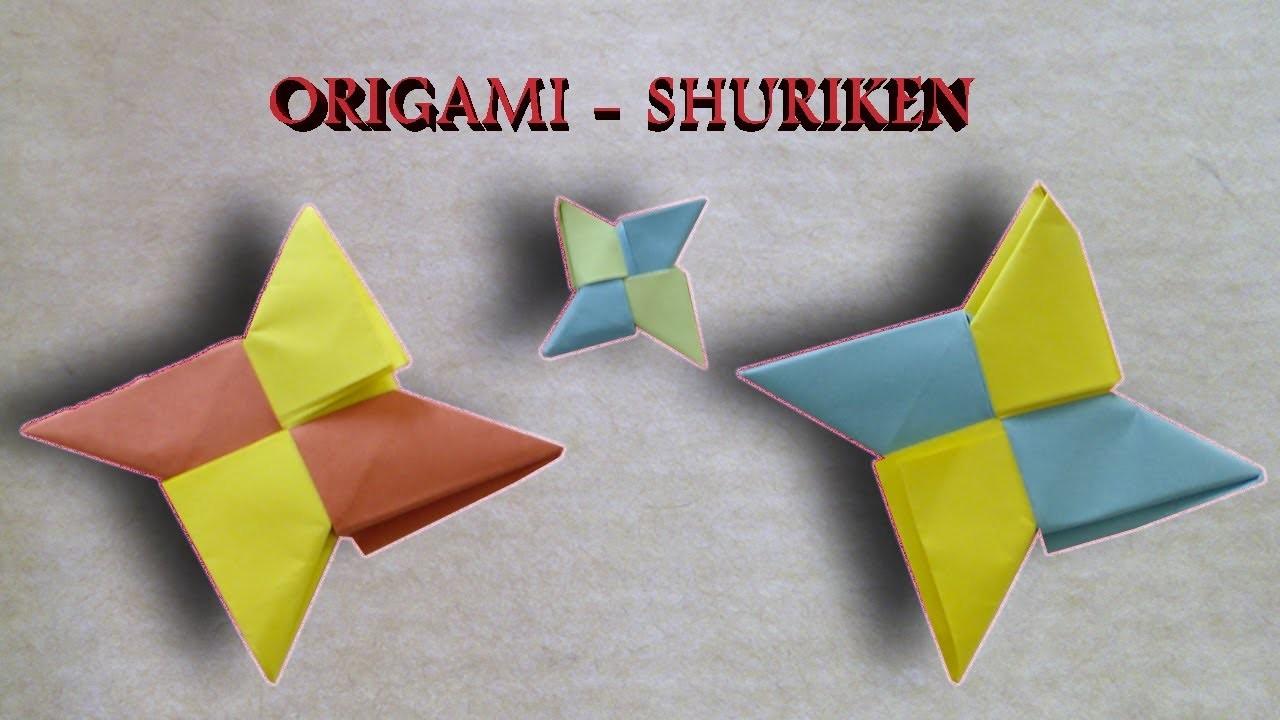 #Origami - Shuriken