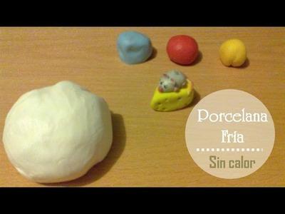 Porcelana fría: Preparala sin usar fuego | Masa flexible para moldear