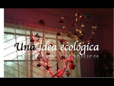 Rama de Navidad: IDEA ECOLOGICA
