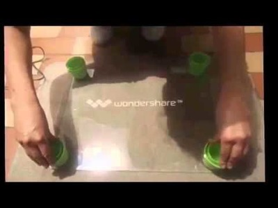 Repisa Reutilizando Botellas Plásticas y de Vidrio. Gotitiadeagua adm