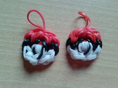 ♥ Tutorial: cómo hacer una pokeball con gomitas (sin telar) ♥