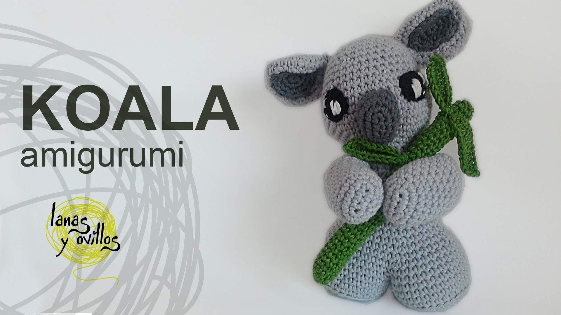 Tutorial Koala Amigurumi (English subtitles)