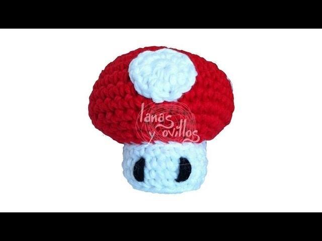 Tutorial Mushroom Mario Amigurumi (english subtitles)