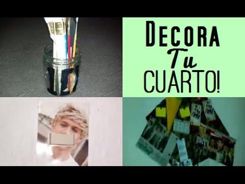 ✂3 IDEAS PARA DECORAR TU CUARTO DE 1D|Dayanna♡