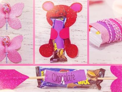 ♥ 4 Maneras creativas de regalar un dulce en SAN VALENTIN ♥