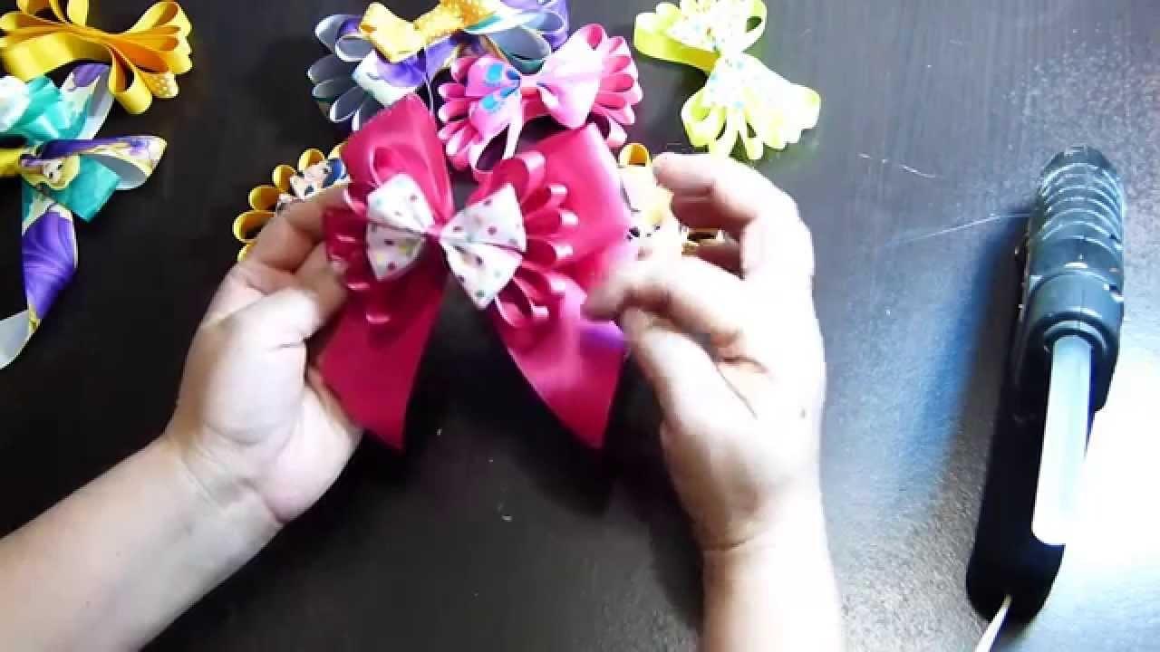 Accesorios para el cabello en forma de corbatín con cinta delgada. bow tie bows for hair