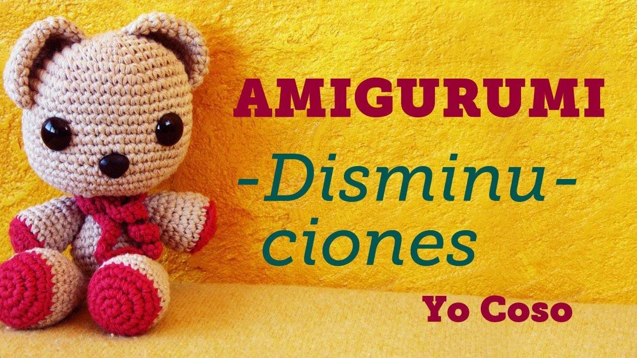 Amigurumi: Disminuciones - Bichus