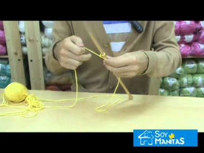 Aprender a tejer: cómo montar los puntos