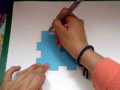 Carta oculta en un cubo DESCUBRE EL MENSAJE