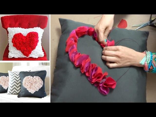 Chuladas creativas cojines con corazon manualidades - Fotos de cojines decorativos ...