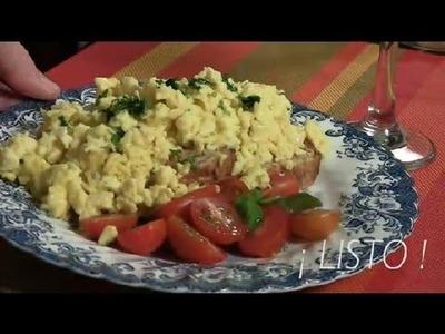 Como Cocinar Huevos Revueltos : Las Mejores Recetas con Huevo