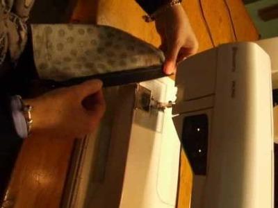 Como coser una cremallera para hacer una bolsa