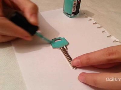 Cómo diferenciar las llaves | facilisimo.com