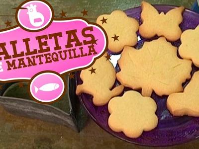 Cómo hacer galletas de mantequilla. Fáciles y rápidas