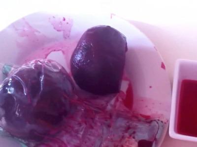 Cómo hacer sangre casera fácil