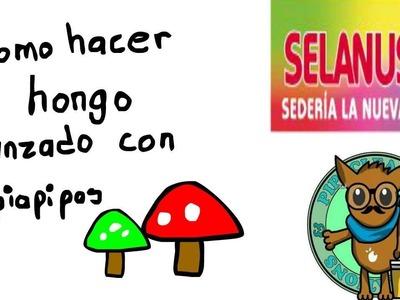 Como hacer un hongo avanzado con limpiapipas