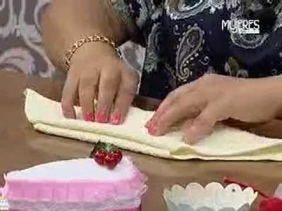 ¿Cómo hacer un Pastel de Toalla? (METVC)