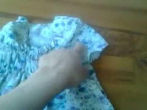 Como hacer una blusa para niña
