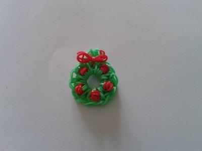 Como hacer una Corona de Navidad con gomitas sin telar *Especial Navidad*