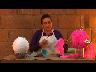 Como hacer una piñata mexicana DYI Alejandra Coghlan